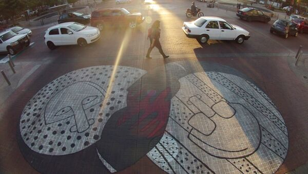 Пешеходный переход в Гвадалахаре, Мексика