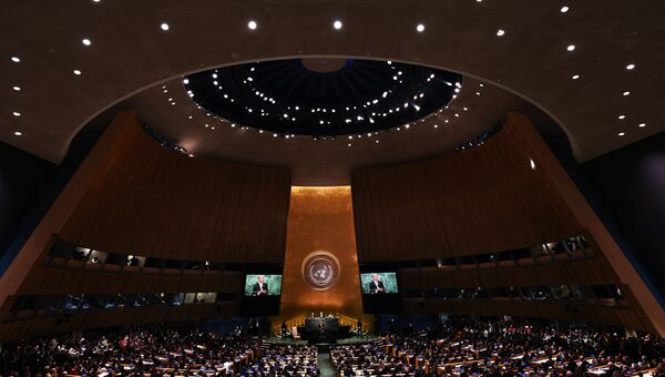 ООН в Нью-Йорке. Архивное фото