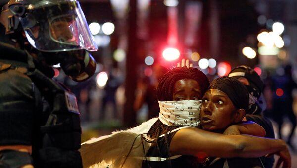 Беспорядки в городе Шарлотт, Северная Каролина. 21 сентября 2016