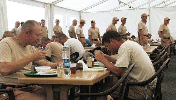 Военнослужащие РФ на базе Хмеймим в Сирии