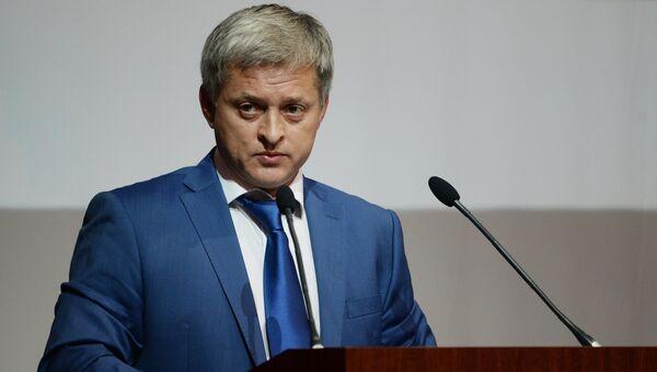 Игорь Ефремов на внеочередной конференции РФС