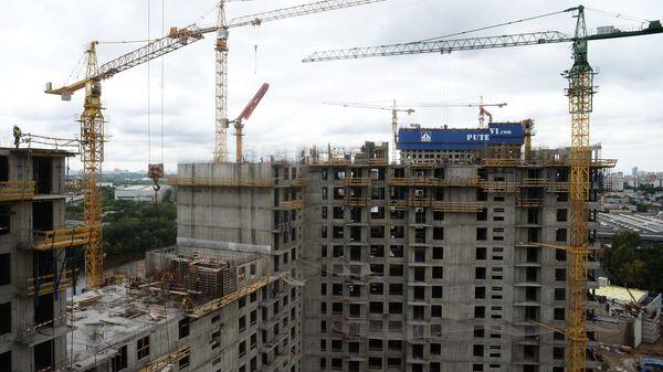 Строительство городского квартала Сердце столицы в Москве