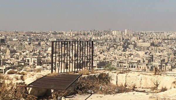 Захваченные боевиками восточные кварталы Алеппо. Архивное фото