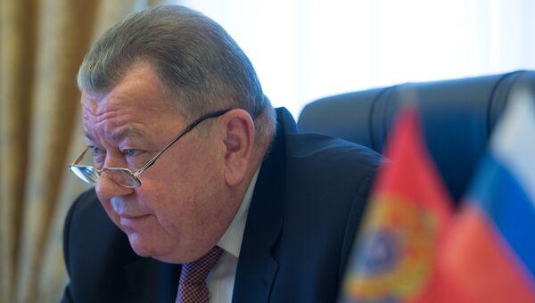 Заместитель министра иностранных дел РФ Олег Сыромолотов. Архивное фото
