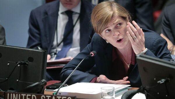 Бывший постоянный представитель США при ООН Саманта Пауэр