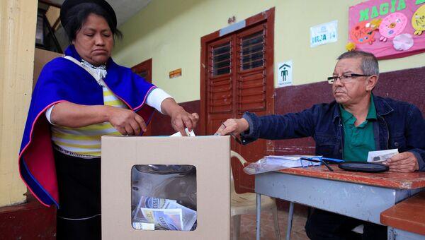 Референдум в Колумбии по вопросу окончательного мирного соглашения с РВСК. Архивное фото