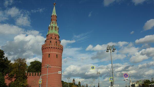 Водовзводная башня Московского Кремля. Архивное фото