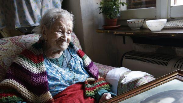 Старейшая жительница земли Эмма Морано. Архивное фото