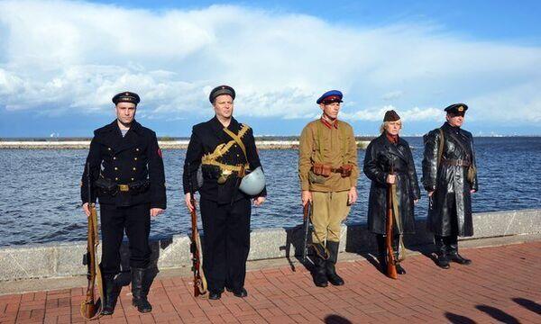 В Санкт-Петербурге почтили память Стрельнинского десанта 1941 года