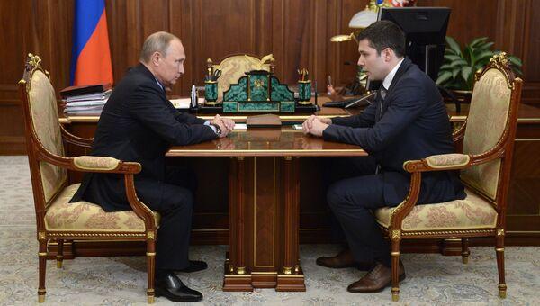 Президент РФ В. Путин назначил врио губернатора Калининградской области А. Алиханова
