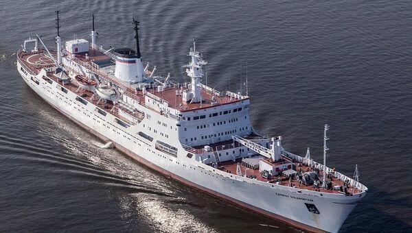 Океанографическое исследовательское судно Балтийского флота Адмирал Владимирский. Архивное фото