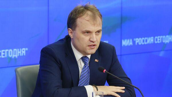 Евгений Шевчук, 2-й Президент Приднестровской Молдавской Республики. Архивное фото