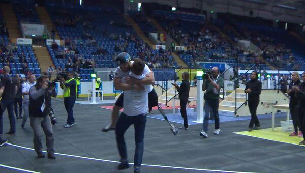Выступление сборной РФ на первой в мире бионической Олимпиаде – Кибатлоне