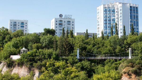 Парк имени Салавата Юлаева в Уфе. Архивное фото
