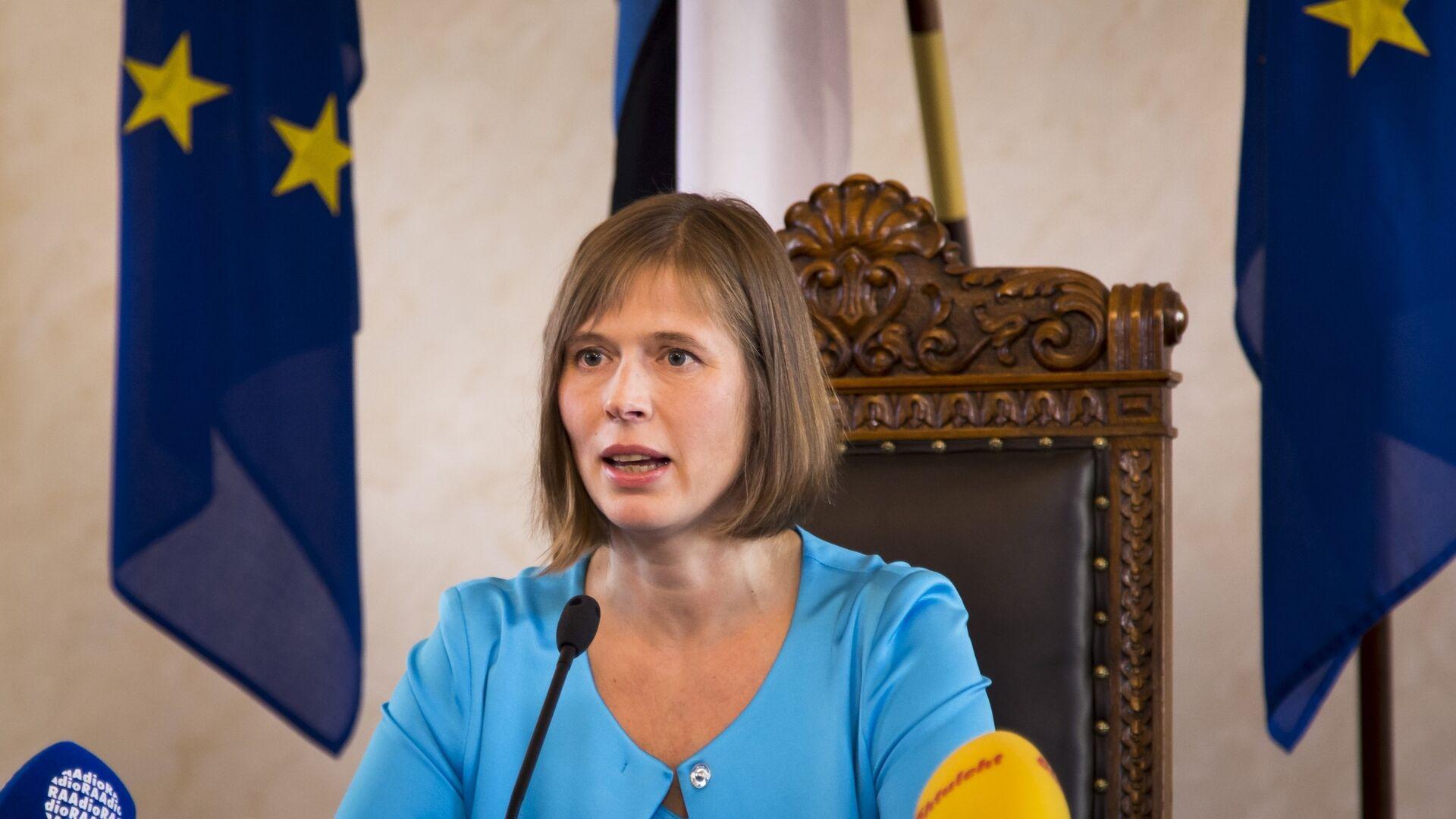 """Президент Эстонии предложила Евросоюзу способ """"сдержать Россию"""""""