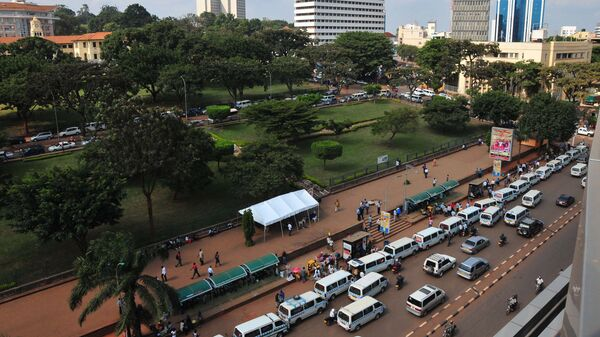 Столица Уганды город Кампала