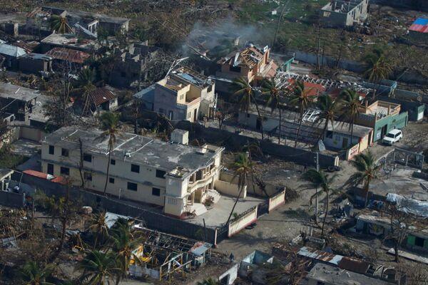 Последствия урагана Мэтью на Гаити. 10 октября 2016