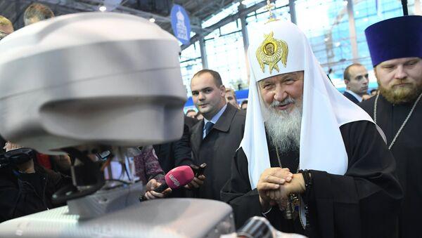 Патриарх Кирилл на Православном студенческом форуме. Архивное фото.