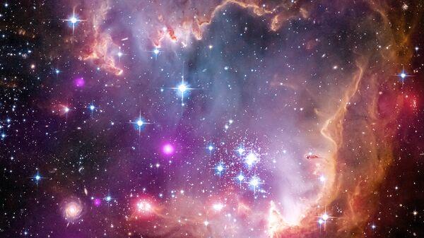 Галактика Малое Магелланово Облако