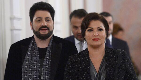 Анна Нетребко и Юсиф Эйвазов. Архивное фото