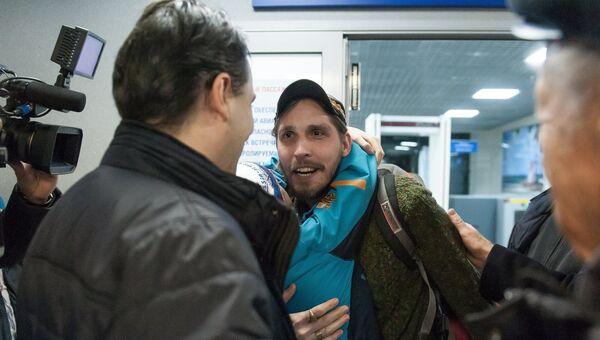 Гражданин России Константин Журавлев захваченный боевиками в Сирии в 2013 году. Архивное фото
