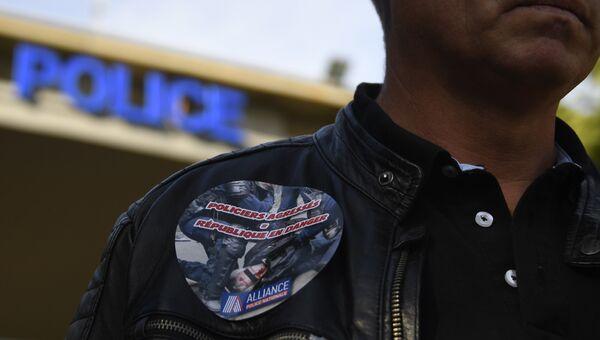 Полицейский во Франции. Архивное фото