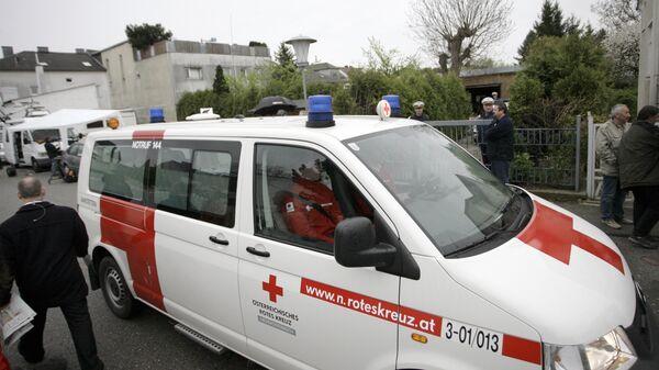 Автомобиль скорой помощи в Австрии