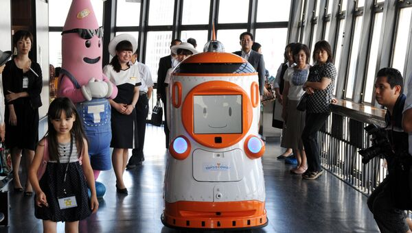 Японский робот Тавабо. Архивное фото