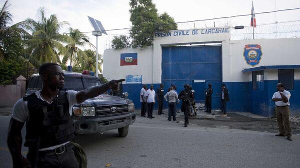 Тюрьма в населенном пункте Аркахай на севере Гаити