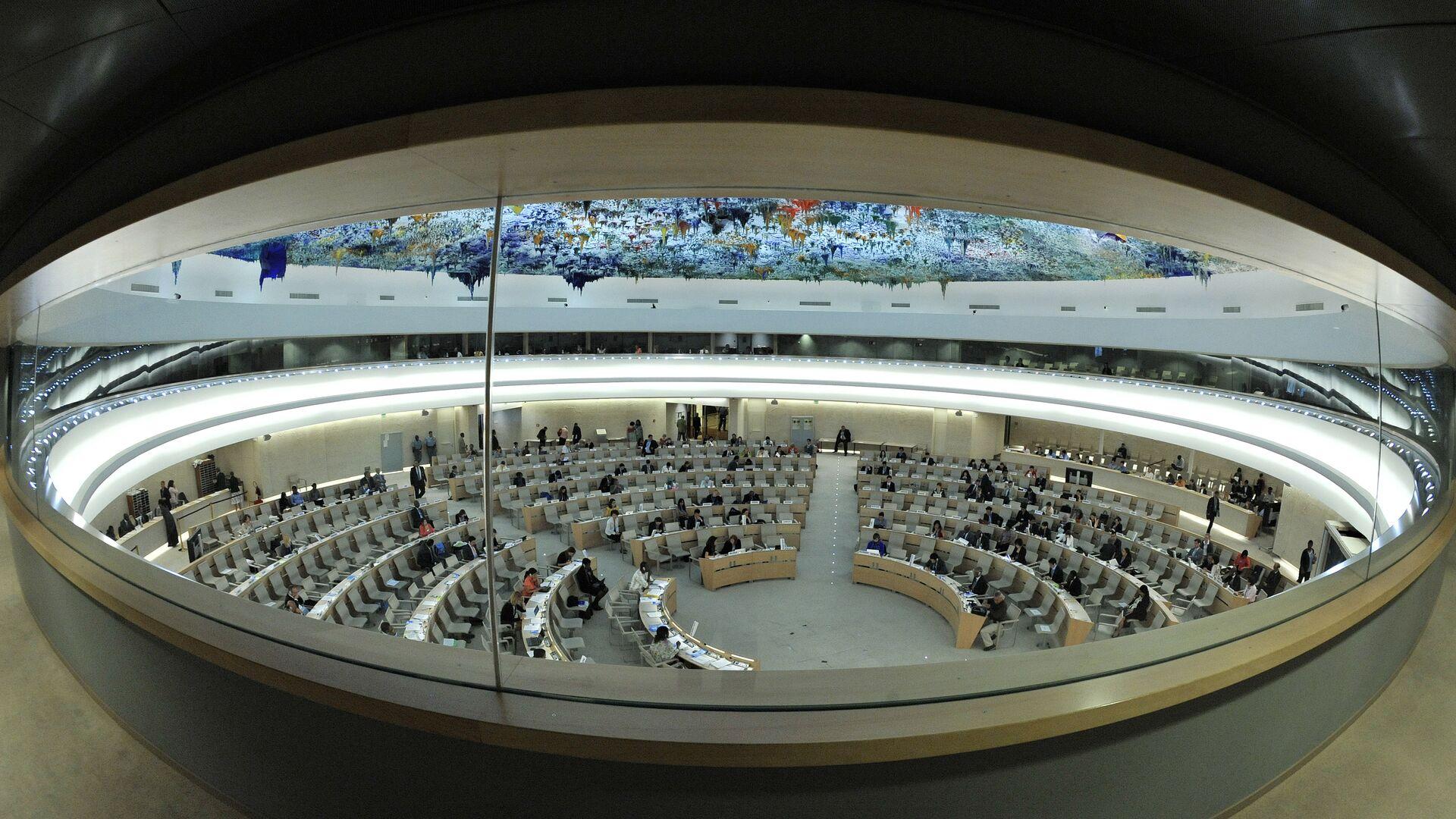 Заседание Совета ООН по правам человека - РИА Новости, 1920, 18.09.2020