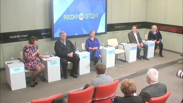 Пресс-конференция, посвященная II Всероссийскому фестивалю семейных любительских театров Сказка приходит в твой дом