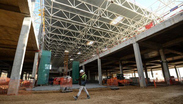 Строительство нового грузового терминала аэропорта Шереметьево к чемпионату мира по футболу - 2018