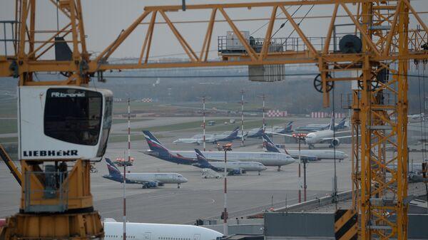 Строительство пассажирского терминала В аэропорта Шереметьево к чемпионату мира по футболу - 2018
