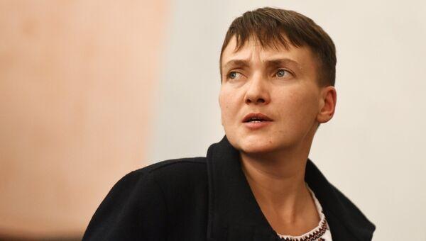 Депутат Верховной рады Надежда Савченко. Архивное фото