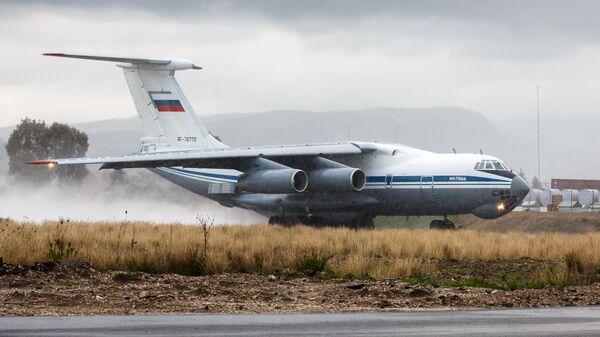 Самолет Ил-76 ВКС России. Архивное фото