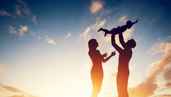 Семья. Архивное фото