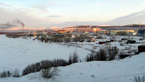 Вид поселка Харп в Ямало-Ненецком автономном округе. Архивное фото