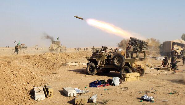 Операция по освобождению Мосула от боевиков ИГ. Архивное фото