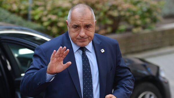 Экс-премьер Болгарии Бойко Борисов. Архивное фото