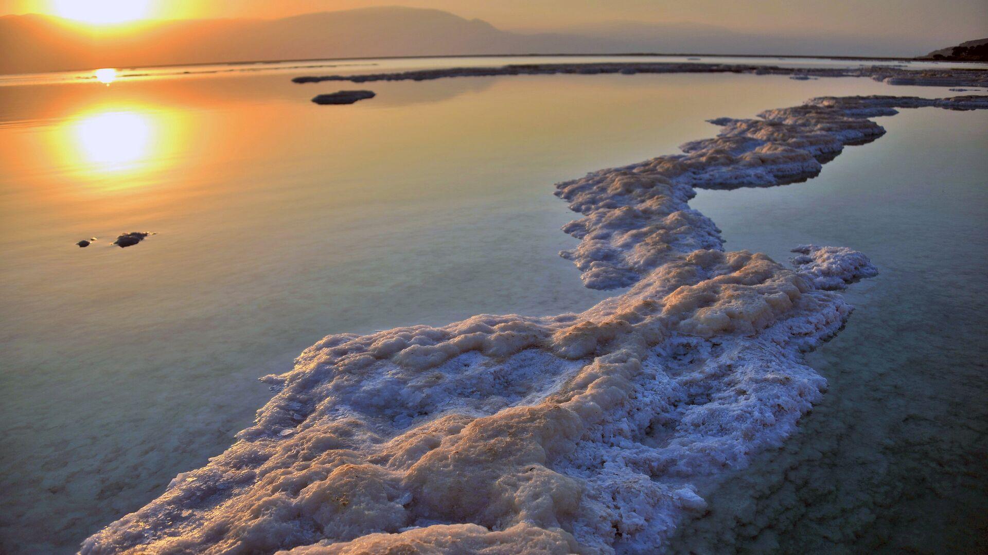 Мертвое море со стороны Израильского побережья - РИА Новости, 1920, 16.02.2021