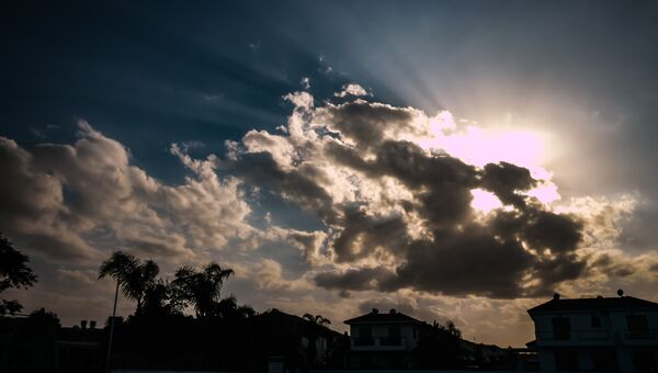 Облака. Архивное фото