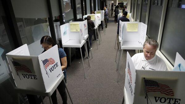 Досрочное голосование на выборах президента США в Калифорнии