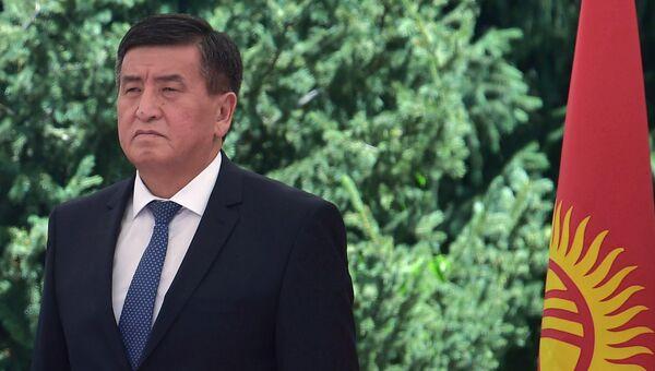 Премьер-министр Киргизии Сооронбай Жээнбеков. Архивное фото