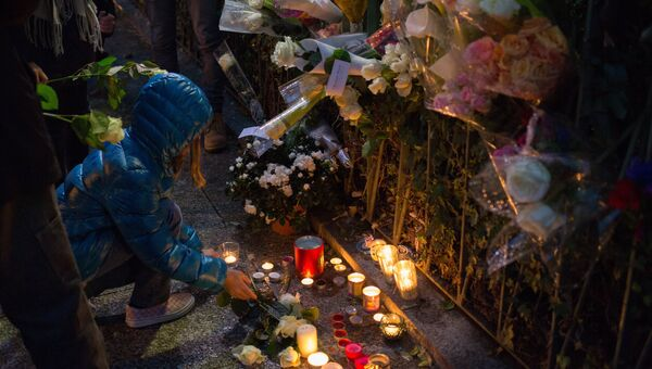 Парижский театр Батаклан через год после терактов. Архивное фото
