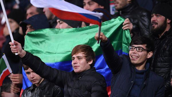 Болельщики сборной России, архивное фото