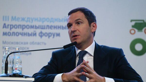 Денис Буцаев на Международном агропромышленном молочном форуме в подмосковном Красногорске