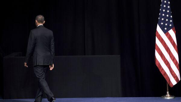 Президент США Барак Обама в Афинах, Греция. Ноябрь 2016 года