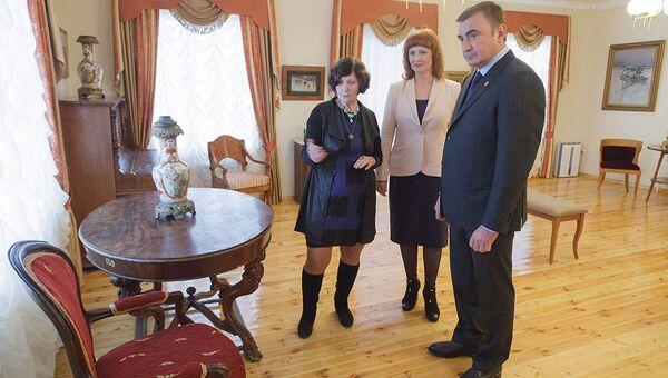 Губернатор Тульской области Алексей Дюмин посетил музей-заповедник Бежин луг