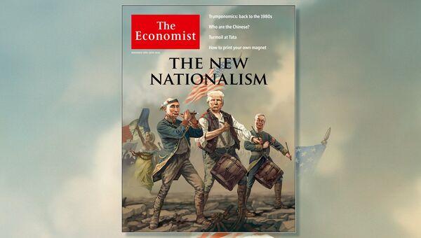 Обложка журнала Экономист