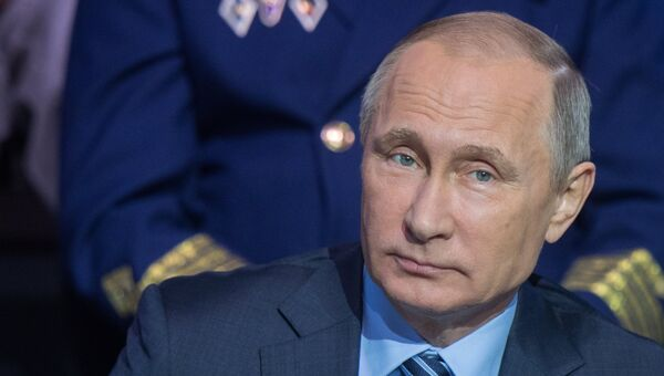Владимир Путин на итоговом заседании форума ОНФ Форум действий в Москве. 22 ноября 2016